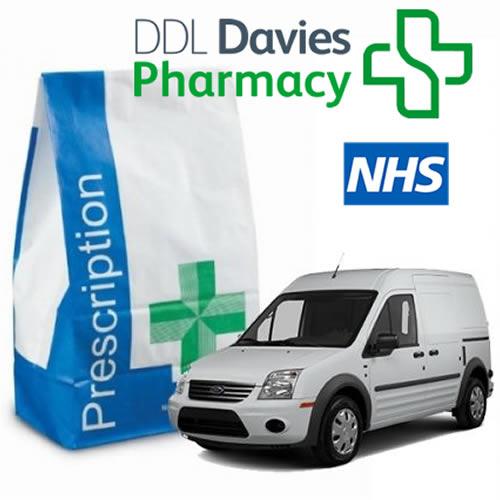 free prescription collection delivery preston